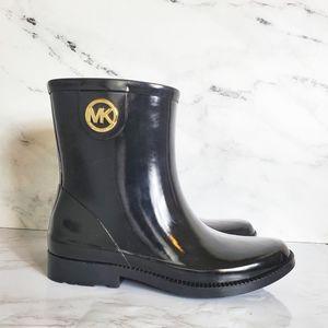 Michael Kors Black Rain Boot